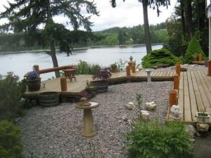 Wooden Garden Decorative Deck
